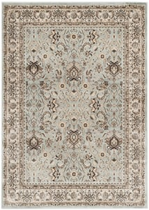 Light Blue, Ivory (L) Persian Garden PEG-607 Traditional / Oriental Area Rugs