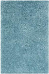 Turquoise (T) Indie Shag SGI-320 Shag Area Rugs