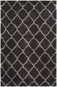 Dark Grey (D) Indie Shag SGI-322 Shag Area Rugs
