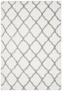 Ivory, Grey (P) Indie Shag SGI-322 Shag Area Rugs