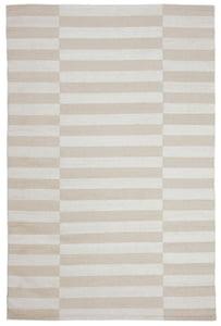 Light Brown, Beige (D) Ludlow Stripe LRL7350 Contemporary / Modern Area Rugs