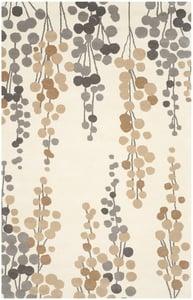 Beige, Grey (A) Soho III SOH-338 Contemporary / Modern Area Rugs