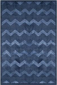 Sapphire (D) Monroe Chevron RLR-6725 Chevron Area Rugs