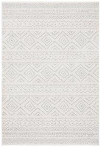 Ivory, Light Grey (B) Tulum TUL-267 Bohemian Area Rugs