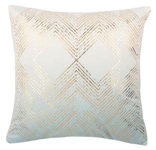 Seafoam, Gold (PLS-7144D) Pillow I Sarla Contemporary / Modern Pillow