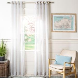 Grey (WDT-1050B) Darlington Curtain Louisa Semi-Sheer Contemporary / Modern Curtains