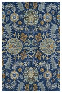 Blue, Denim Blue, Grey (17) Helena 3212 Traditional / Oriental Area Rugs
