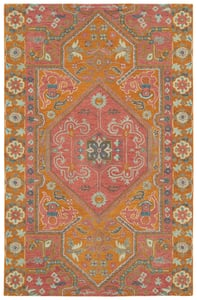 Pink (92) Helena 3219 Contemporary / Modern Area Rugs