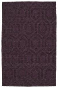 Purple (95) Imprints Modern IPM-01 Solid Area Rugs