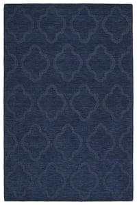 Navy (22) Imprints Modern IPM-02 Solid Area Rugs