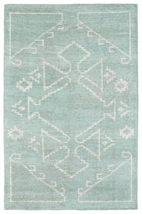 Mint (88) Solitaire SOL-09 Southwestern Area Rugs