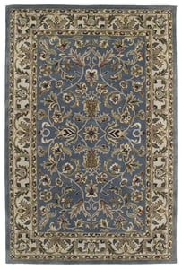 Blue, Beige, Olive Green (17) Mystic William Traditional / Oriental Area Rugs
