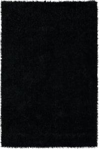 Black Illusions IL-69 Solid Area Rugs