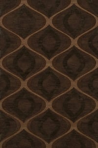 Pinecone, Brown Quest QT-01 Contemporary / Modern Area Rugs