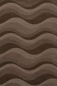 Chipmunk, Brown, Taupe Quest QT-04 Contemporary / Modern Area Rugs