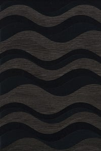 Shadow, Grey Quest QT-04 Contemporary / Modern Area Rugs