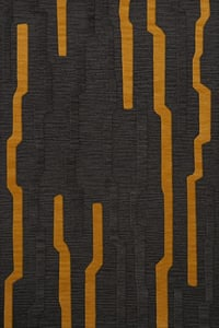 Seal, Grey, Gold Quest QT-08 Contemporary / Modern Area Rugs