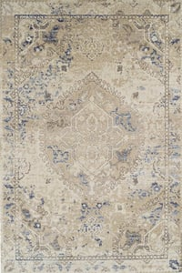 Linen Antigua AN-7 Traditional / Oriental Area Rugs
