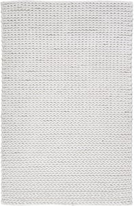 Ivory (ANC-1000) Anchorage 298 Solid Area Rugs