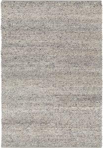 Silver Grey, Pale Blue, Medium Grey (TAH-3710) Tahoe 23134 Contemporary / Modern Area Rugs
