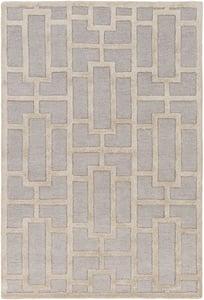 Light Grey, Beige (AWRS-2141) Arise Addison Contemporary / Modern Area Rugs