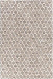 Wheat, Taupe, Camel, White (MOD-1009) Medora Honeycomb Animals / Animal Skins Area Rugs
