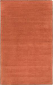 Burnt Orange (M-332) Mystique Solid Solid Area Rugs