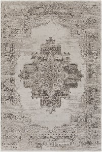 Light Grey, Beige, Taupe (AMS-1023) Amsterdam 26064 Vintage / Overdyed Area Rugs