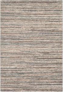Peach, Burnt Orange, Cream, Light Grey (ENL-1001) Enlightenment 20595 Contemporary / Modern Area Rugs