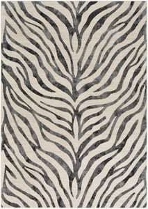Taupe, Light Gray, Beige (CIT-2300) City New Orleans Animals / Animal Skins Area Rugs