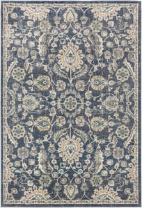Navy (CIT-2357) City 23685 Traditional / Oriental Area Rugs