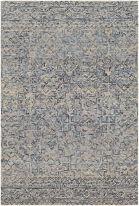Blue (NCS-2308) Newcastle 23669 Contemporary / Modern Area Rugs