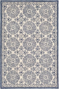 Dark Blue (GND-2303) Granada 23803 Traditional / Oriental Area Rugs