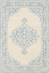 Pale Blue, Beige, Sky Blue (GND-2306) Granada 23804 Traditional / Oriental Area Rugs