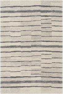 Taupe, Charcoal, Beige (GND-2328) Granada 26223 Contemporary / Modern Area Rugs