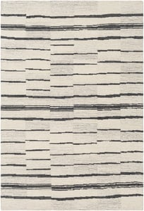 Taupe, Beige, Charcoal (GND-2327) Granada 26223 Contemporary / Modern Area Rugs