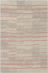 Bright Pink, Beige, Taupe (GND-2329) Granada 26223 Contemporary / Modern Area Rugs