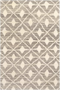 Taupe (FEZ-2303) Fez 23584 Contemporary / Modern Area Rugs