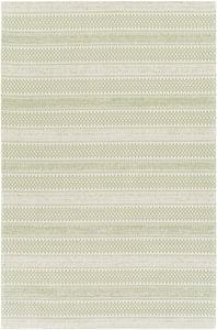 Grass Green, Ivory (LCS-2312) La Casa 24956 Bohemian Area Rugs