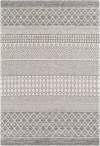 Grey, Taupe (LCS-2305) La Casa 24964 Moroccan Area Rugs