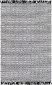 Black, Silver Grey, White (AZA-2310) Azalea 26123 Contemporary / Modern Area Rugs