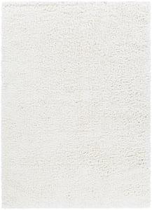 White (CAF-2306) California Shag 25222 Shag Area Rugs