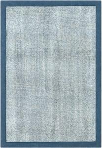 Bright Blue, Sky Blue, Cream (SNA-2306) Siena 23308 Contemporary / Modern Area Rugs