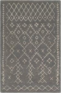 Medium Gray, Light Gray (SOU-2303) Souk 24252 Moroccan Area Rugs