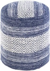Beige, Denim, White (IVPF-002) Levi Pouf 26181 Contemporary / Modern Poufs