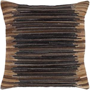 Dark Brown (ZND-001) Zander Pillow 21592 Contemporary / Modern Pillow