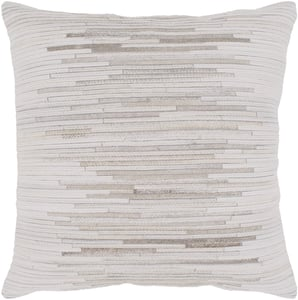 Tan, Cream, Taupe (ZND-002) Zander Pillow 21592 Contemporary / Modern Pillow