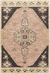 Blush, Camel, Beige (URF-2306) Urfa 26543 Bohemian Area Rugs