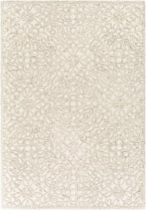 Beige, Tan, Cream (EGC-2301) Elegance 27007 Traditional / Oriental Area Rugs