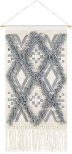 Denim, Ivory (HNA-1005) Helena 29507 Bohemian Wall Hangings